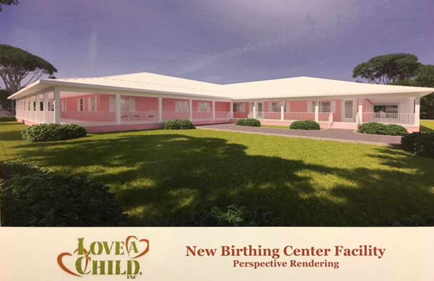 Proposed new Birthing and Learning Center.