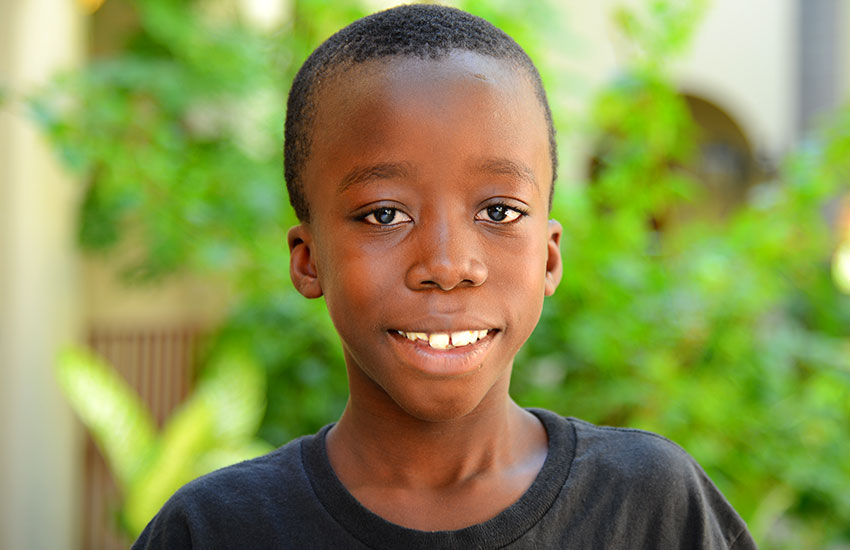 Colin has received excellent medical care here in Haiti.