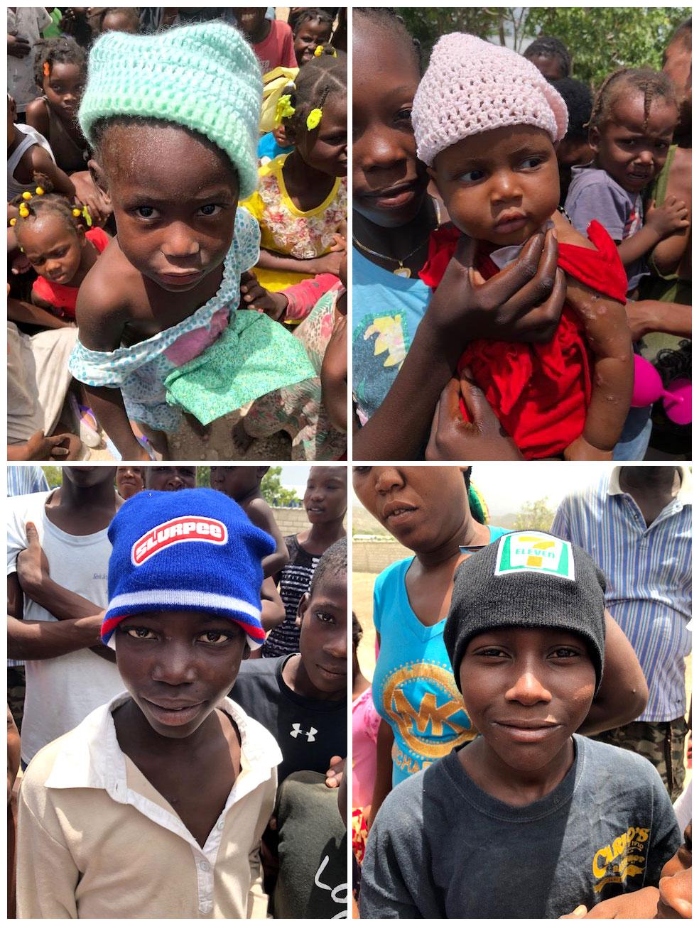 Handmade Hats for Children