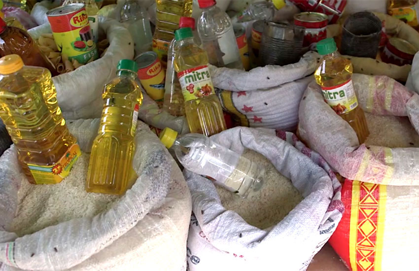 Most people can't afford even the basics of rice, beans and oil.