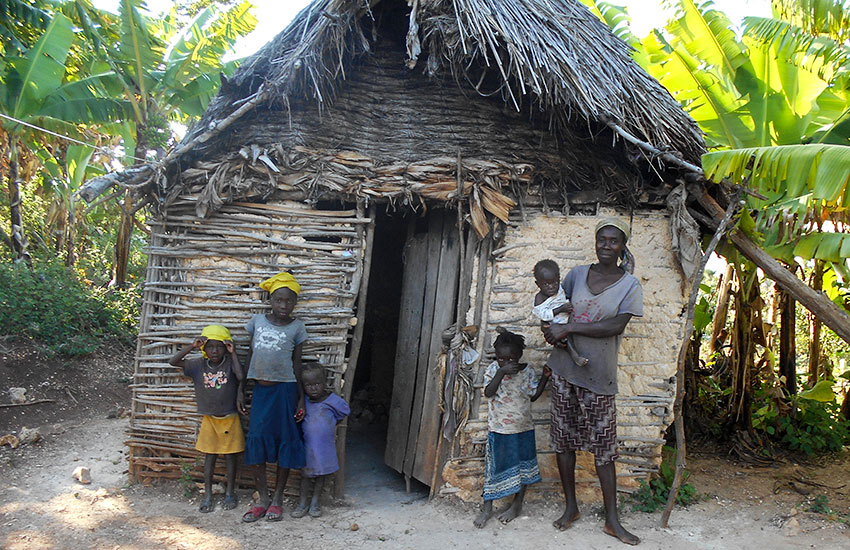 "Most Haitian women in our area live in small mud huts they call ""KiPi,"" and their babies are born on the dirt floor."
