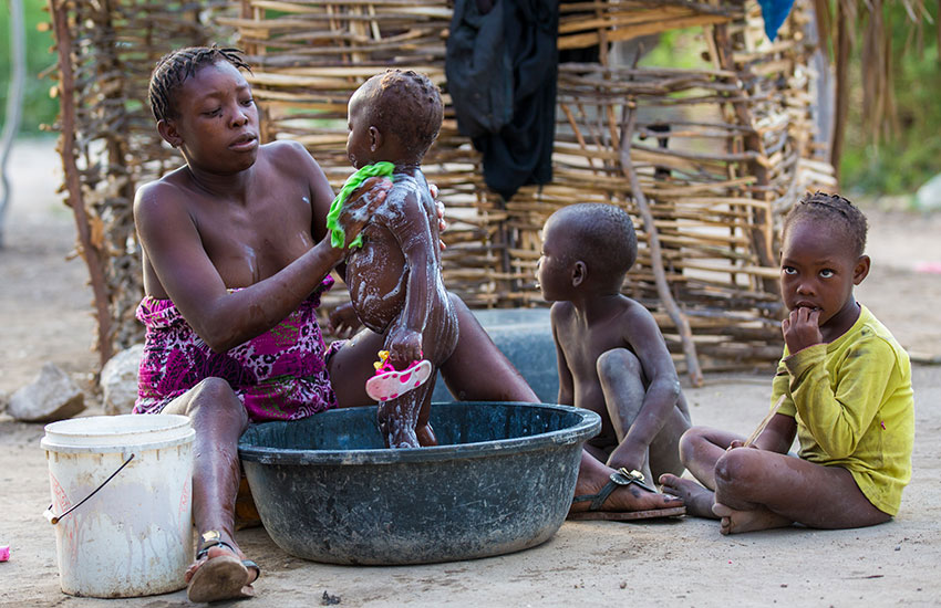 A life of poverty is deep-rooted in generations of women and mothers in Haiti.